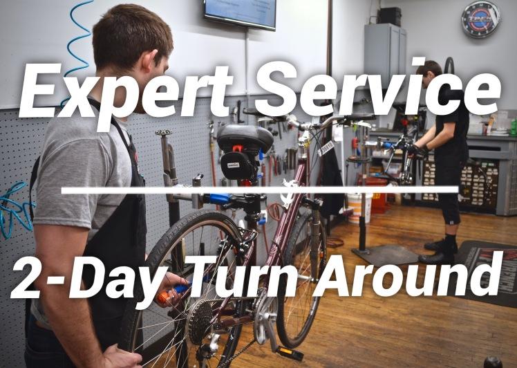 hall bicycle service department, bicycle repair, bicycle service, trek bikes, cedar rapids, iowa
