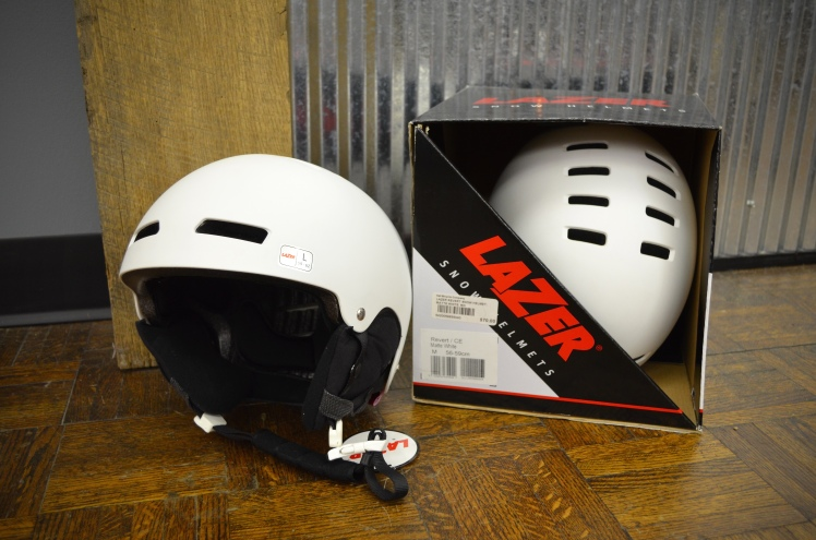 Lazer winter cycling helmets.