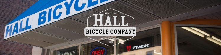 Hall Bicycle Company, Cedar Rapids, Iowa.