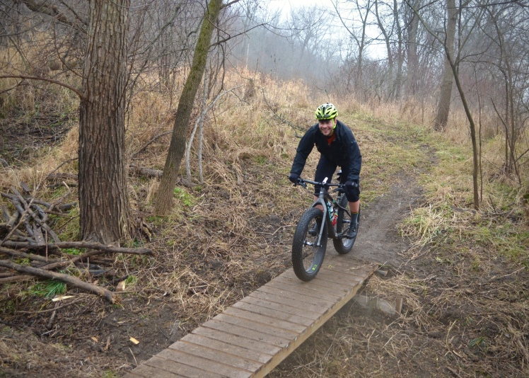 Global Fat Bike Day Ride | Hall Bicycle Company. Cedar Rapids, Iowa.