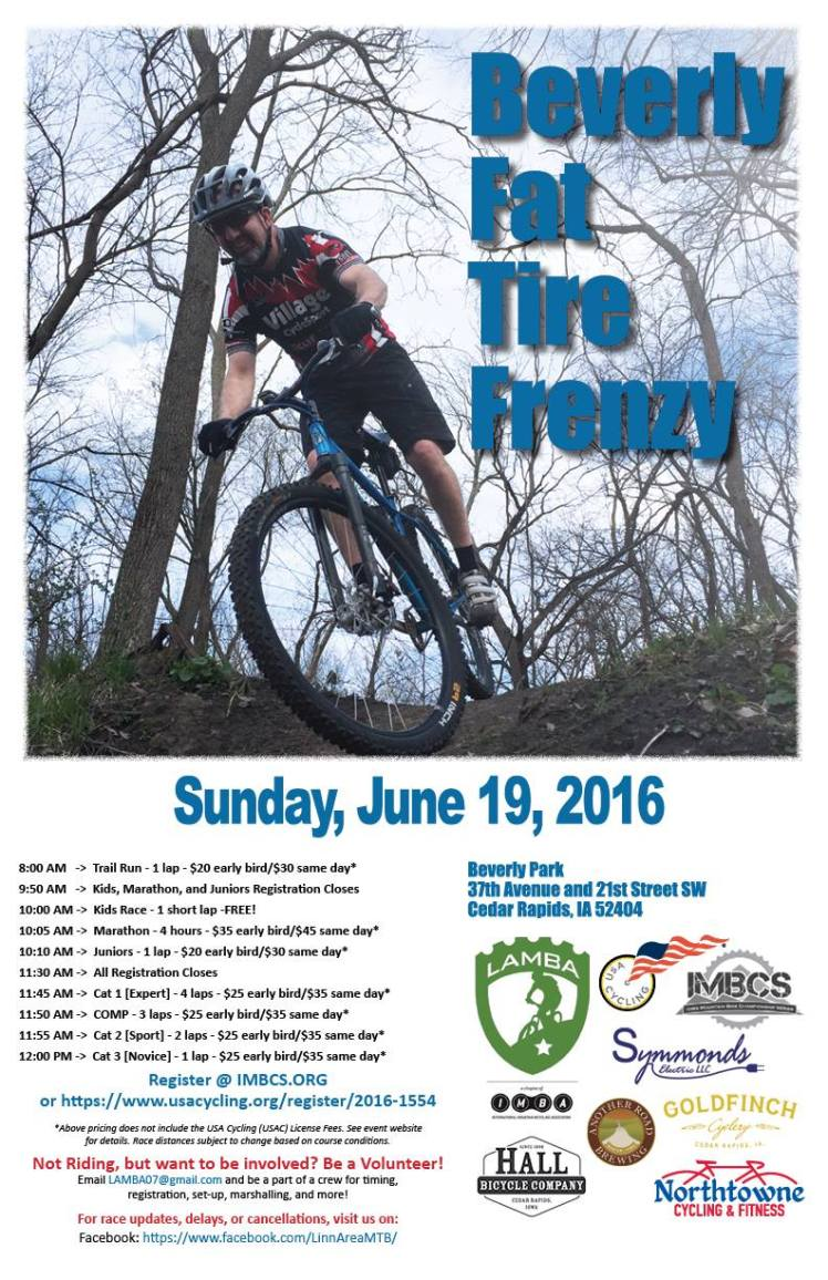Beverly Park Fat Tire Frenzy 2016