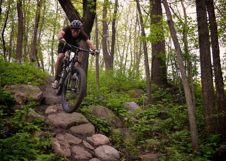 Beverly Park, Cedar Rapids, Iowa. Mountain Biking, Local Singletrack, Trek Bikes, Trek Stache