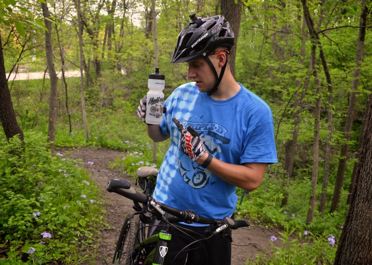 Beverly Park, Cedar Rapids, Iowa. Mountain Biking, Local Singletrack, Trek Bikes, Trek Superfly