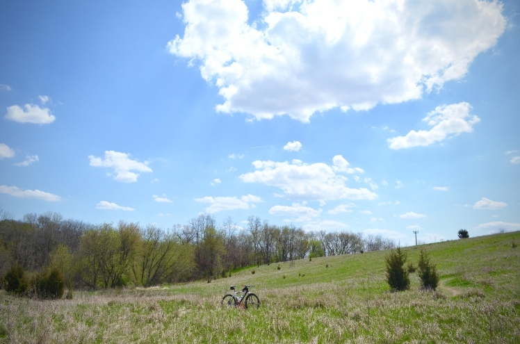 Beverly Park, Cedar Rapids, Iowa. Mountain Biking, Local Singletrack