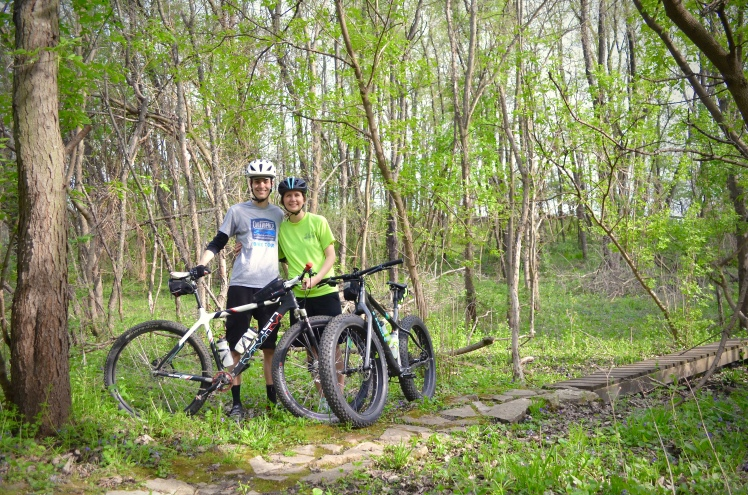 Beverly Park, Cedar Rapids, Iowa. Mountain Biking, Local Singletrack, Trek Bikes