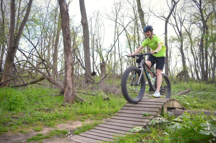 Beverly Park, Cedar Rapids, Iowa. Mountain Biking, Local Singletrack, Trek Bikes, Trek Farley