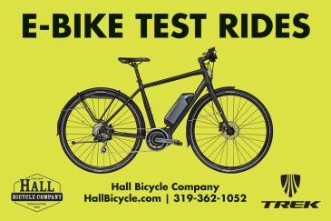 Hall Bicycle E-Bike, Electric Assist Bicycles, Trek Ride Plus, Cedar Rapids, Iowa