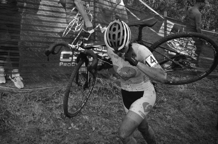 Jingle Cross 2016, UCI Cyclocross World Cup, Cedar Rapids, Iowa City, Iowa, Hall Bicycle Company, Becca Fahringer