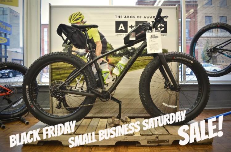 Hall Bicycle Black Friday/Small Business Saturday Sale, Cedar Rapids, Iowa, Trek Fat Bike Sale