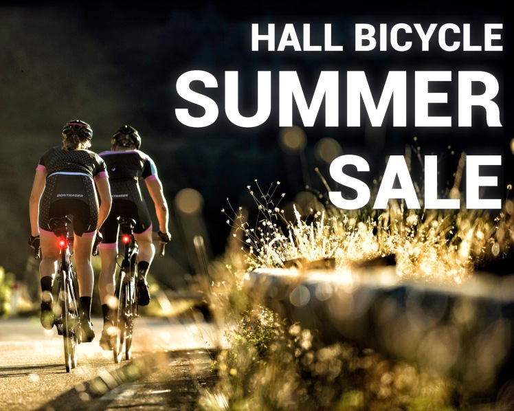 Trek Summer Sale at Hall Bicycle Company, Cedar Rapids, Iowa