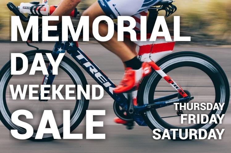 Trek Bikes, Cedar Rapids, Iowa, Memorial Day Sale, Hall Bicycle Company
