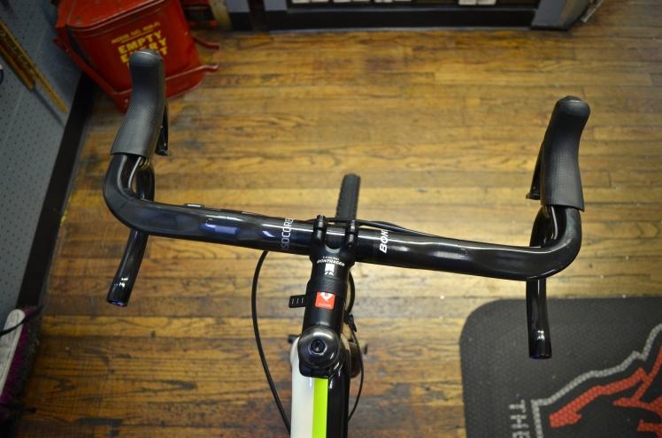 Custom Trek Boone, Shimano Ultegra, Bontrager Aeolus Wheels, Hall Bicycle Company, Cedar Rapids, Iowa, Trek Bikes, Cyclocross, Bontrager Pro Carbon handlebars, harlequin pattern handlebar wrap