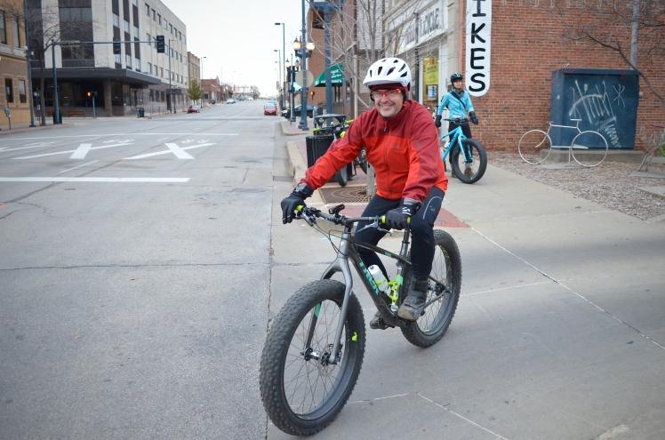 Global Fat Bike Day, GFBD, Hall Bicycle Company, Cedar Rapids, Iowa, Trek Farley 9.6, Trek Bikes