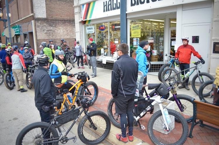 Global Fat Bike Day, GFBD, Hall Bicycle Company, Cedar Rapids, Iowa
