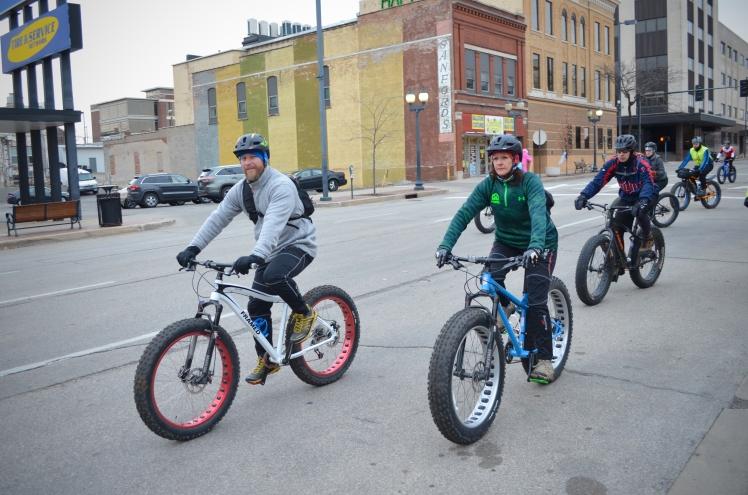 Global Fat Bike Day, GFBD, Hall Bicycle Company, Cedar Rapids, Iowa, Framed Bikes, Surly Bikes, Surly ICT