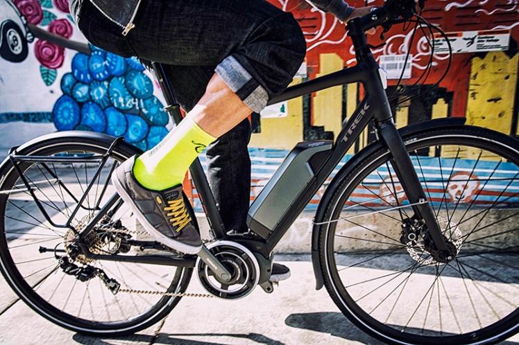 Trek Bikes, Trek Conduit+ E-Bike, Electric Assist Bike, Pedal Assist Bicycle, Hall Bicycle Company, Cedar Rapids, Iowa