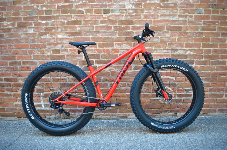 2018 Trek Farley 7 Fat Bike, Cedar Rapids, Iowa, Hall Bicycle Company, Trek Bikes